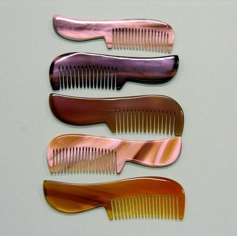 Moustache, Cat or Fine Hair Horn Comb