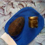 Exfoliating Kit (Exfoliating Glove, Hemp Oil Soap and Volcanic Pumice Stone