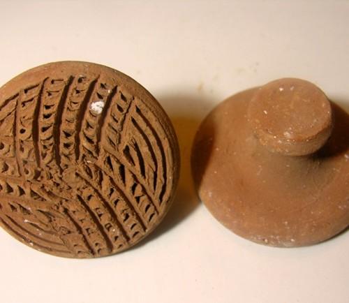 terracotta clay pumice