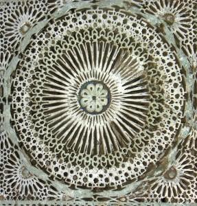 Very intricate Moroccan plasterwork