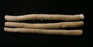 Three miswak sticks