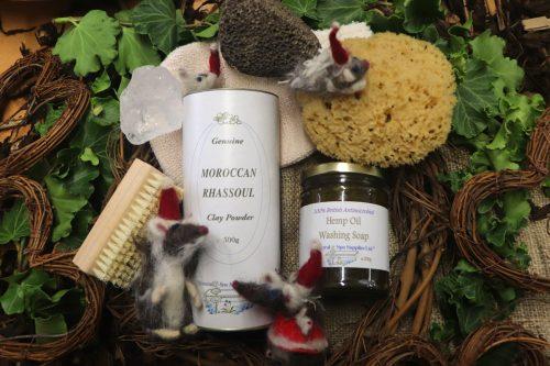 fully natural wash shower and bath kit by natural spa supplies