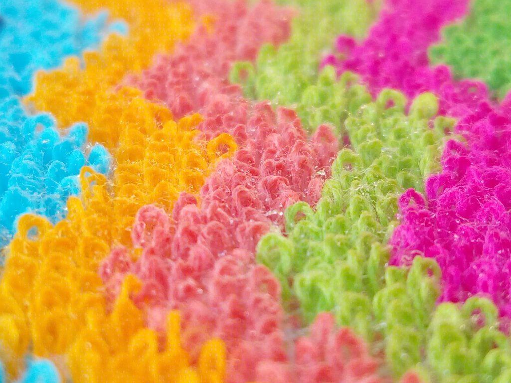 kilo euro scrubbie close up