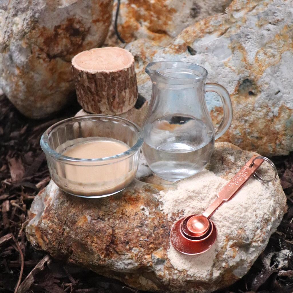 Natural Spa Supplies thanaka with water and thanaka log recipe 3
