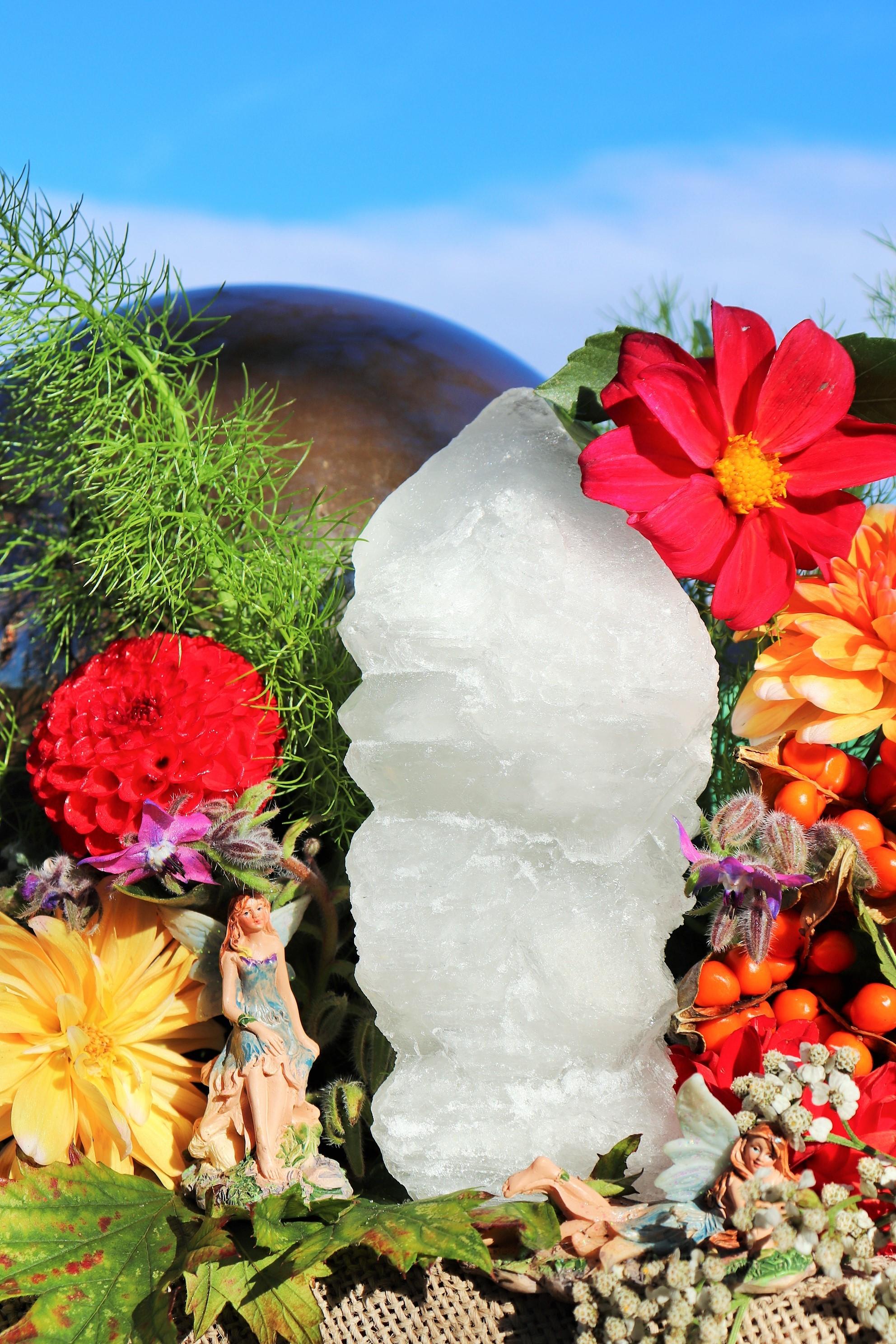 Alum Crystal Tip and Fairy